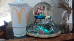 #disney Very Rare Disney Little Mermaid Part Of Your World Light Up Snowglobe -Fast Ship please retweet
