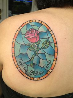 Ahhhh finally an inspiration pic! Ive wanted a stained glass tattoo for years! -MMB