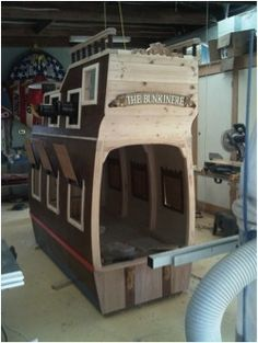 [callsign]KTF: Pirate Ship Bunk Bed Project
