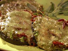 Get Grilled Stuffed Portobello Mushrooms Recipe from Food Network