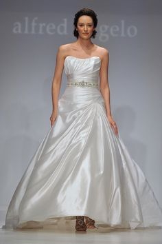 494: Alfred Angelo Wedding Dress -- Bridal Spring/ Summer 2012 Collection