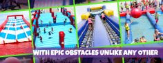 Nothing like a game show theme obstacle course to get your heart pumping!
