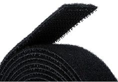 Monoprice Fastening Tape One Wrap Hook & Loop Fastening Tape 5 yard/Roll - Black Band Rooms, Cord Management, Pretty Shirts, Discount Makeup, Hanging Pictures, Tape, Black, Band Director, Nasa Space