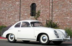 '55 Porsche 356. Originally sold on this side of the pond as the 'Continental' since Americans weren't ready for numeric model names yet.