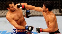 Gegard Mousasi out struck Lyoto Machida in their bout at UFC Fight Night 36