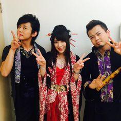 Kiyoshi.Yuko.Daisuke (Wagakki Band) Visual Kei, Cool Bands, Martial Arts, Asian, Photo And Video, Guys, Nihon, Beautiful, Steampunk