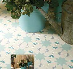 Victorian Style Vinyl Flooring | Seville Odyssey Victorian tile pattern
