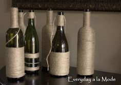 DIY Round UP: 15 Reasons to Keep Your Wine Bottles
