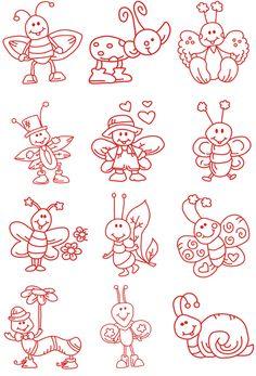 Cute little bugs ...