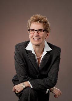 Kathleen Wynne / Ottawa Portrait.
