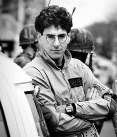 """RIP Harold Ramis inothernews: """" Director Harold Ramis, who brought us films like Stripes, Analyze This, Groundhog Day and Ghostbusters and who appeared as Egon Spengler in the latter and its sequel,. Ghostbusters 1984, The Real Ghostbusters, Original Ghostbusters, Ghostbusters Costume, Harold Ramis, National Lampoons, Star Wars, Ghost Busters, Groundhog Day"""