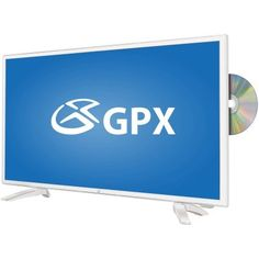 "GPX TDE2475WP 24"" 1080p 60Hz LED HDTV/DVD Combo"