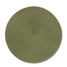 15 dia; 10/2  Round Woven Place Mats, Set of 2 | Williams-Sonoma