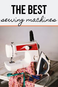 (Last Updated February 13 Looking for a new sewing machine? Then you're in luck. Now days, there are hundreds, if not thousands, of sewing machines to choose from. No matter your budget or experience level, chances are there's a sewing machine. Sewing Machines Best, Sewing Machine Reviews, Sewing Projects For Kids, Sewing For Kids, Long Arm Quilting Machine, Sewing Rooms, Sewing A Button, Sewing Tips, Sewing Hacks