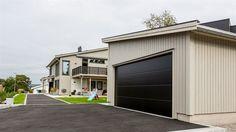 : Garasjer for enebolig  - Karlshusgarasjene