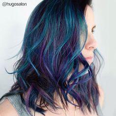 Lived in rainbow hair on @kmarz2310 @hugosalon #hugosalon @behindthechair_com #btconeshot_color16 #btconeshot_haircolor16 #btconeshot_rainbow16 #btconeshot_hairpaint16 #btconeshot_curls16