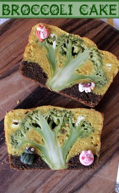 Broccoli Forest Cake