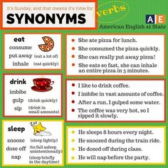 1000 images about synonyms on pinterest esl learn for Cuisine synonym