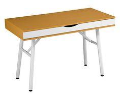 Table bois, naturel et gris - L115