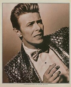 David Bowie by Herb Ritts                                                                                                                                                                                 More