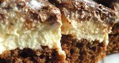 Mennyei Túrós-kávés szelet recept! A napokban találtam ezt a receptet, be fog kerülni a kedvenc süteményeim közé. Hungarian Desserts, Hungarian Recipes, Cookie Recipes, Dessert Recipes, New York Style Cheesecake, Sweet And Salty, Food And Drink, Healthy Recipes, Healthy Meals
