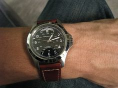 Photo by Rob Hill Seiko Snk809, Cool Watches, Watches For Men, Hamilton Khaki King, Seiko Monster, Hamilton Jazzmaster, Most Popular Watches, Best Watch Brands, Field Watches