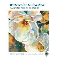 Watercolor Unleashed: Painting White Flowers | NorthLightShop.com
