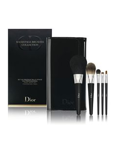 C1YT6 Dior Beauty Limited Edition Backstage Brushes Collection Travel Brush Set