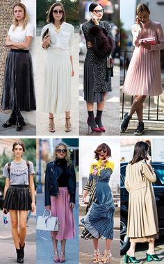 Trend Alert: Os plissados estão de volta - Fashionismo
