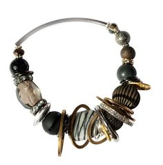 Checkout this amazing deal Black and Bronze Bracelet,$45