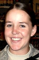 Army SGT Faith R. Hinkley, 23, of Colorado Springs, Colorado. Died August 7, 2010, serving during Operation Iraqi Freedom. Assigned to 502nd Military Intelligence Battalion, 201st Battlefield Surveillance Brigade, Joint Base Lewis-McChord, Washington. Died in Baghdad, Iraq, of injuries sustained from indirect enemy rocket fire in Iskandariya, Iraq. Iraq War, Baghdad Iraq, Remember The Fallen, Army Sergeant, Fallen Heroes, Military Women, Lest We Forget, Real Hero, American Soldiers
