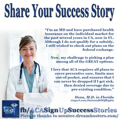 Please Like our Facebook Page and Share YOUR ACA Signup Success Story!  https://www.facebook.com/acasignupsuccessstories
