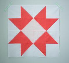 Blue Ribbon Block Pattern | FaveQuilts.com