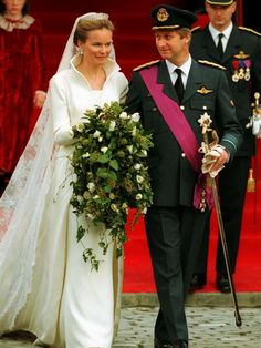 On December 4th, 1999, The Prince Philippe was married with Mathilde d'Udekem d'Acoz in the Chatedral of Brussels.