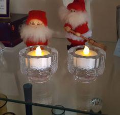 Iittala Finland Kuusi set of 2 candle holders designed by Jorma Vennola