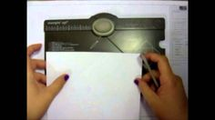 Envelope Punch Board | Stampin Up | We R Memory Keepers