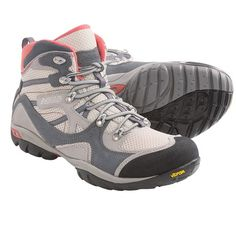 Asolo Ellery ML Hiking Boots (For Women) in White/Grey