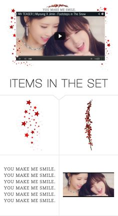 """""""— MV teaser ' Footsteps In The Snow ' ✧"""" by miyoung-official ❤ liked on Polyvore featuring art"""