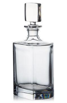 Rogaska Crystal 'Manhattan' Whiskey Decanter