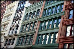 New York - Broadway Architecture Feb 2015