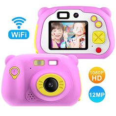 Pancellent Memory Card Include] Kids Camera Gifts for Year Old Mega Pixels), Preschool WiFi Toys Gift for Boys Children Nikon D5500, Smartwatch, Selfies, Appareil Photo Reflex, Kids Electronics, Toy Camera, 12 Year Old, Fujifilm Instax Mini, Gifts For Boys