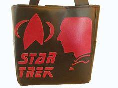 Star Trek The Next Generation Silhouette Handbag - Picard