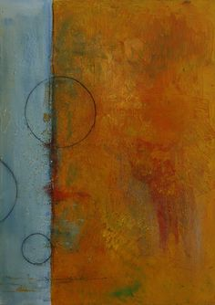 """Abstrakes Bild in Acryl """"Ende August"""" Painting, Abstract Pictures, Painting Abstract, Painting Art, Paintings, Painted Canvas, Drawings"""