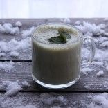 The SPEACH » Green Matcha Chai Latte for Warmth and Cancer Prevention