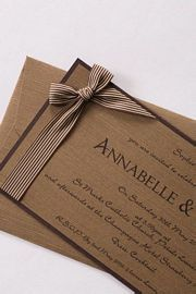 Rustic Wedding Invitations | Paper Perfect Wedding Invitations and Stationery