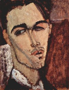 Celso Lagar by Modigliani