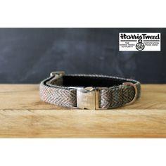 MAX Harris Tweed Dog Collar