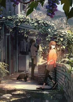 /r/Moescape is a place to post all of your favorite artworks and screen caps of cute Anime characters in their environment. Art Anime, Anime Artwork, Anime Art Girl, Manga Art, Manga Anime, Aesthetic Art, Aesthetic Anime, Estilo Anime, Anime Scenery