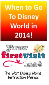 "Trying to decide what would be a good week to visit Walt Disney World in 2014?  You might want to check out ""The 2014 Week Picker"" from yourfirstvisit.net"