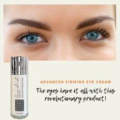 Treat yourself! Get yourself this firming eye cream! Firming Eye Cream, Stay Young, Glycolic Acid, Eyes, Cat Eyes, Stay Gold